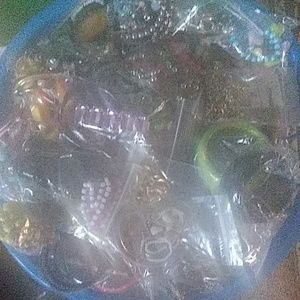 5 pounds vintage costume jewelry